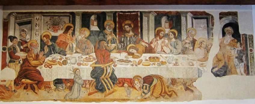 Ultima cena, Convento di Sant'Antonio di Rivello (PZ) segnalata da Pasquale Annichino