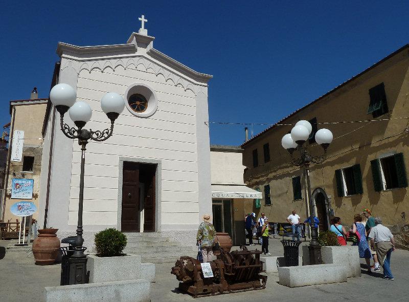Chiesa di San Gaetano di Capoliveri, proposta da Simone Baldetti