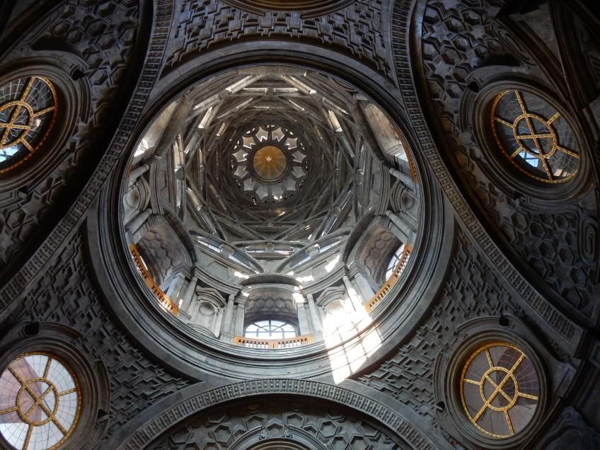 Cupola della Cappella della Sacra proposta da Davide Dimodugno