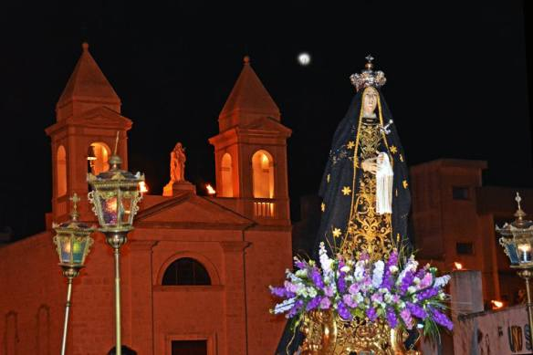 Statua della Madonna Addolorata, Rutigliano (Bari) proposta da Vito Gassi