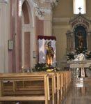 Statua lignea di San Giovanni Battista situata in Cenadi (CZ) proposta da Stefano Montesano